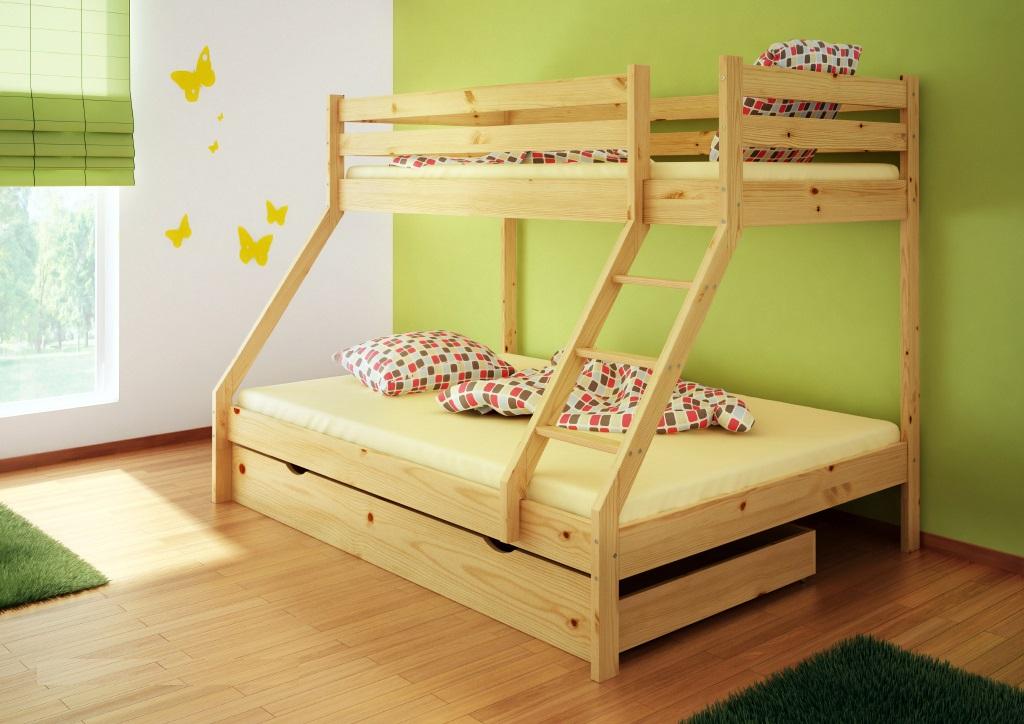 posteľ 90x200 140x200